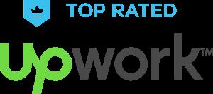 Top Rated UpWork Logo